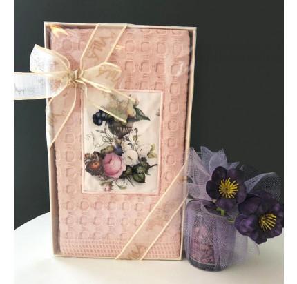 Салфетка La Villa Bahar Kadehi (розовый) 50x70