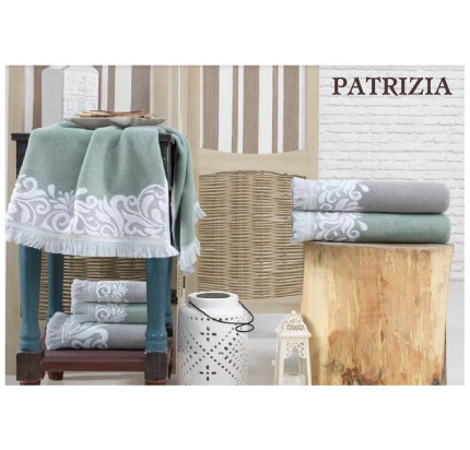 Набор полотенец La Villa Patriza (серый) 3 предмета