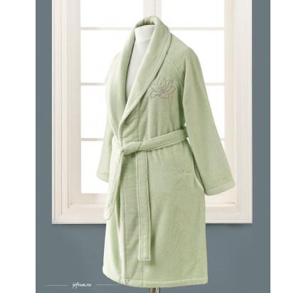 Халат женский Soft Cotton Lilium (зеленый)