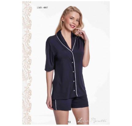 Пижама Luisa Moretti LMS-4007 (черная)