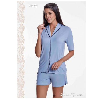 Пижама Luisa Moretti LMS-4007 (голубая)