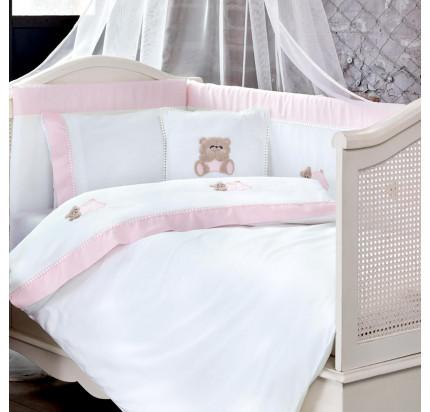 Tivolyo Home Lovely (розовый) набор в кроватку с бортиками