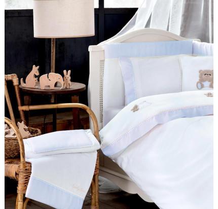 Tivolyo Home Lovely (голубой) набор в кроватку с бортиками