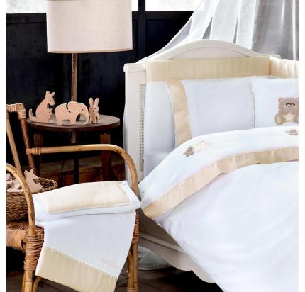 Tivolyo Home Lovely (бежевый) набор в кроватку с бортиками