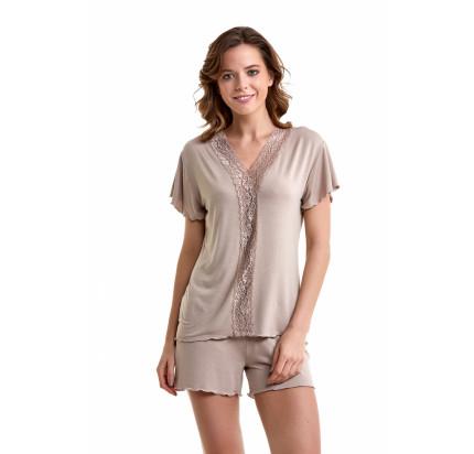 Пижама Luisa Moretti LMS-3036 (бежевая)