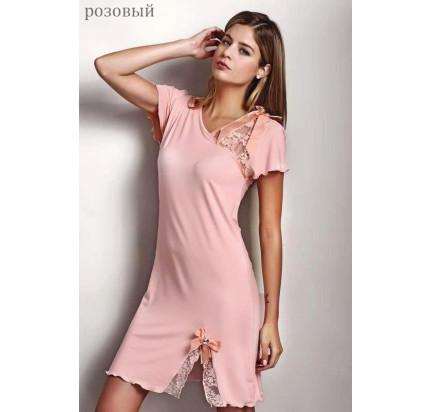 Сорочка Luisa Moretti LMS-2013 (розовая)