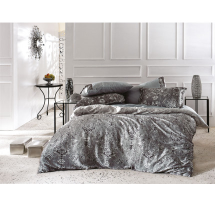 Постельное белье Zebra Casa Mantova grey евро