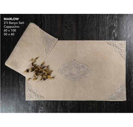 Набор ковриков Karven Marlow капучино (50x60+60x100)