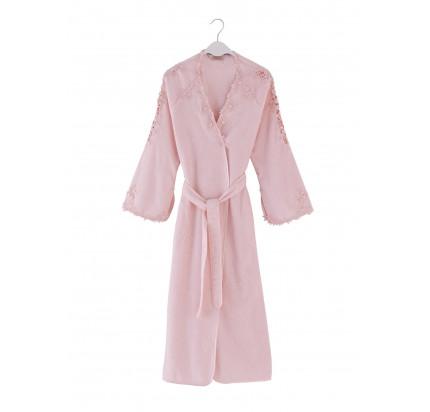 Халат женский Soft Cotton Masal (розовый)
