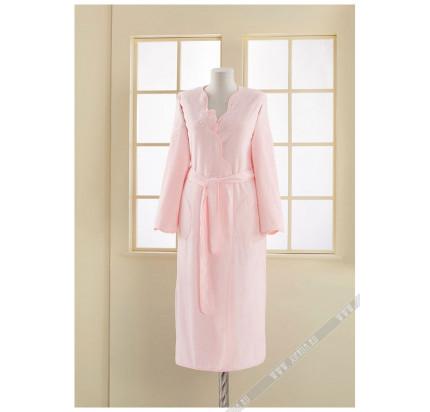 Халат женский Soft Cotton Melis (розовый)