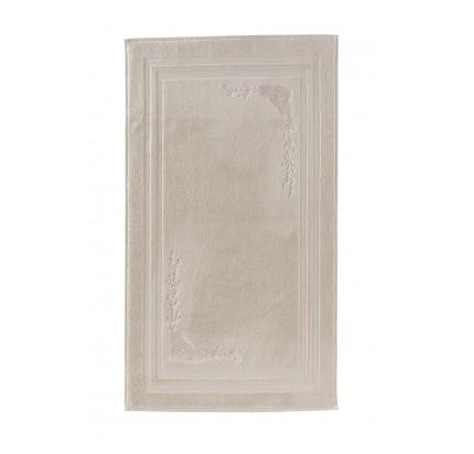 Полотенце-коврик для ног Soft Cotton Melis (пудра) 50x90