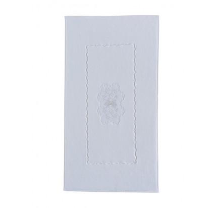 Полотенце-коврик для ног Soft Cotton Melody (белый) 50x90
