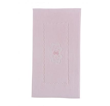 Полотенце-коврик для ног Soft Cotton Melody (розовый) 50x90