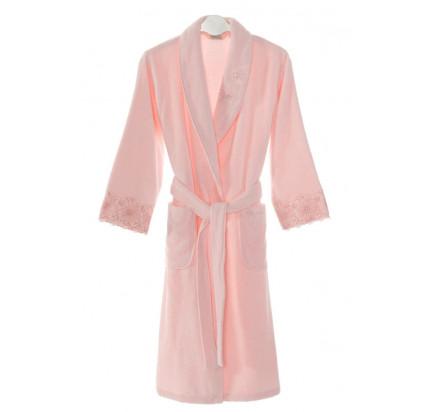 Халат женский Soft Cotton Melody (розовый)