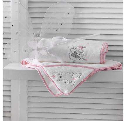 Набор полотенец Tivolyo Home Miss Balerina (2 предмета)