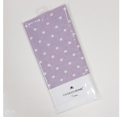 Салфетка Tivolyo Home Dotty (фиолетовый) 50x70