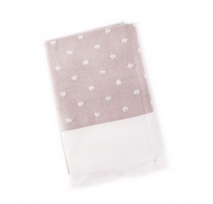 Салфетка Tivolyo Home Dotty (розовый) 50x70