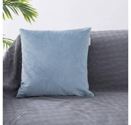 Декоративная наволочка Sofi de Marko Мулен Руж (голубая) 45x45