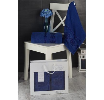 Набор полотенец Karna в коробке Rebeka (парламент, 2 предмета)