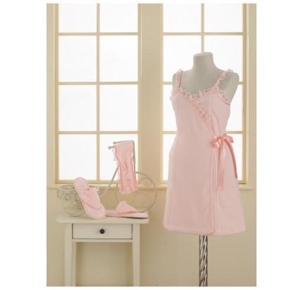 Набор для сауны женский Soft Cotton Luna (розовый)