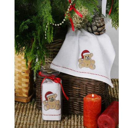Новогоднее полотенце-салфетка Karna Noel V2 30x50