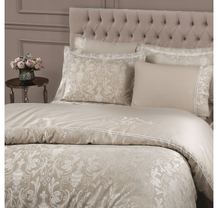 Tivolyo Home Emperium (бежевый) комплект постельного белья евро