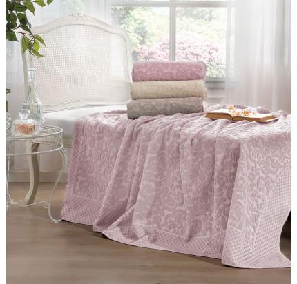 Покрывало Tivolyo Home Elips (розовое)