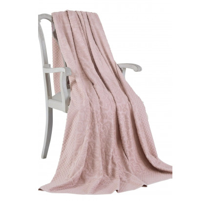 Покрывало Tivolyo Home Elips (грязно-розовый)