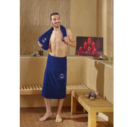 Набор для сауны мужской Karna Pamir (синий)