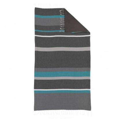 Полотенце Buldan's Pera (серый-антрацит) 90x170