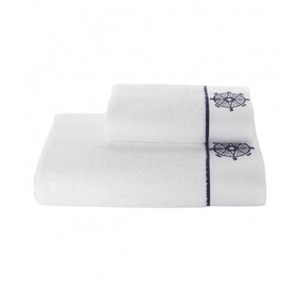 Полотенце Soft Cotton Marine Lady Компас (белое)