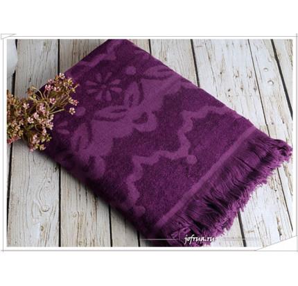 Полотенце Irya Daisy (фиолетовое)