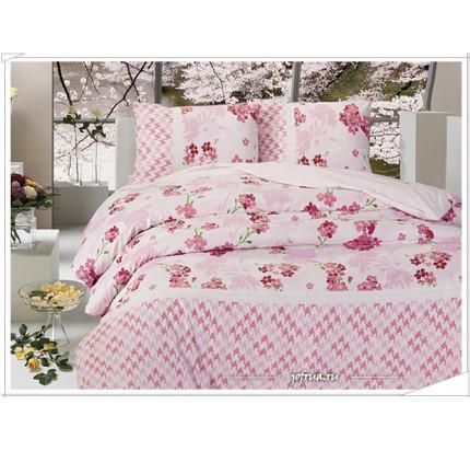Постельное белье Altinbasak April (розовое)