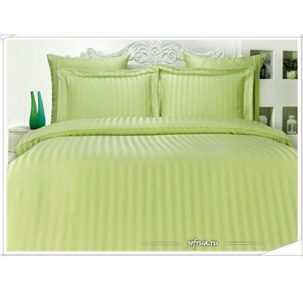Постельное белье Karna Perla (зеленое) евро