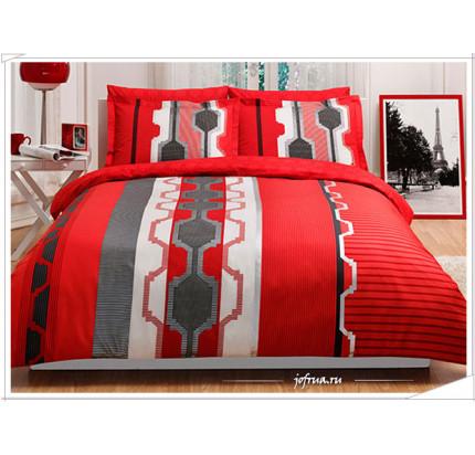 Постельное белье TAC Belva (красное)