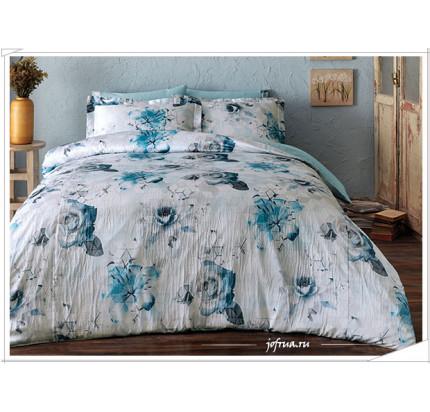 Постельное белье Tivolyo Donna (голубое)