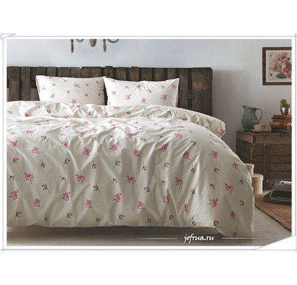 Постельное белье Tivolyo Home Dora (розовое)