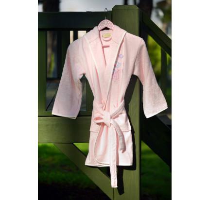 Детский халат Pupilla Young (розовый)