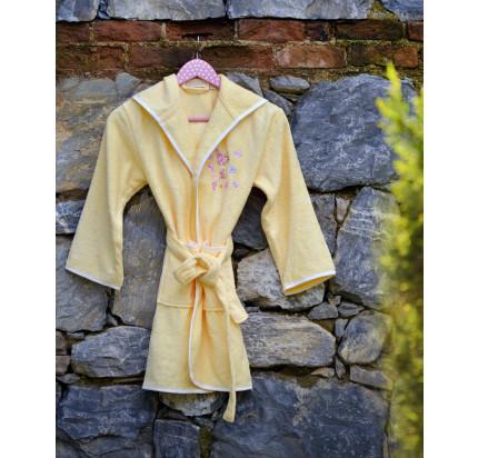 Детский халат Pupilla Young (желтый)