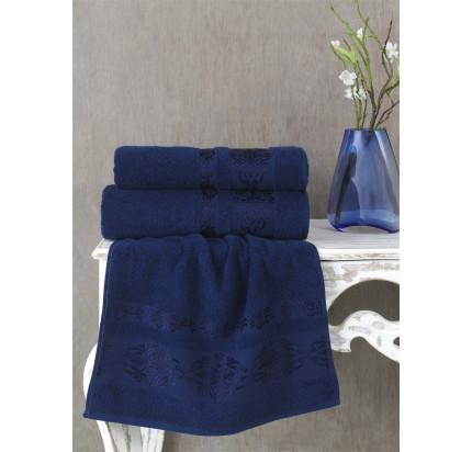 Полотенце Karna Rebeka (синее)
