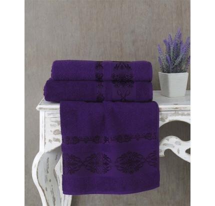 Полотенце Karna Rebeka (фиолетовое)
