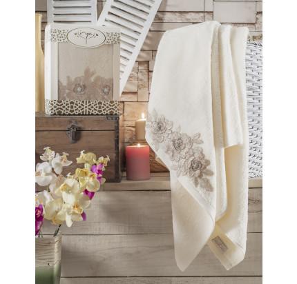 Полотенце Irya Romantic (кремовое)
