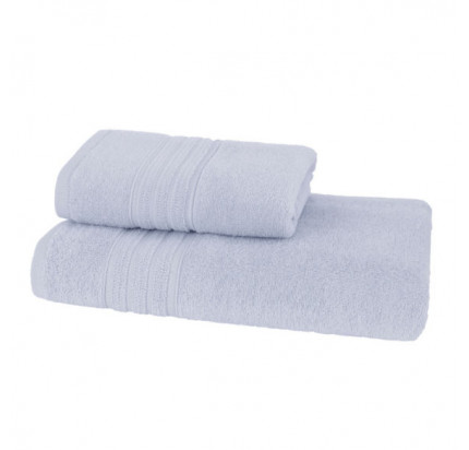 Набор полотенец Soft Cotton Aria (светло-голубой, 2 предмета)