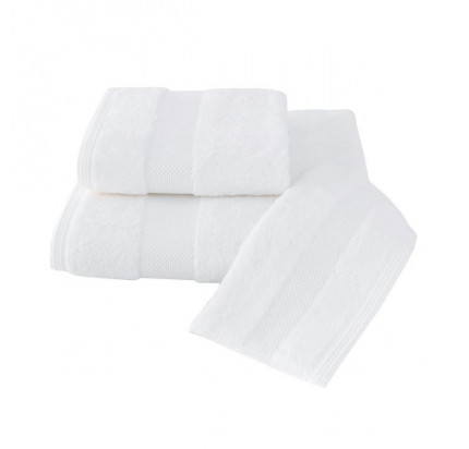 Набор салфеток Soft Cotton Deluxe белый (3 предмета)