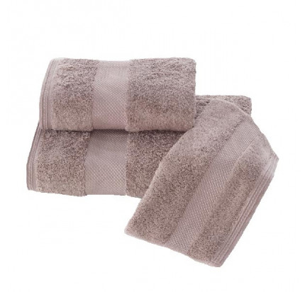 Набор салфеток Soft Cotton Deluxe коричневый (3 предмета)