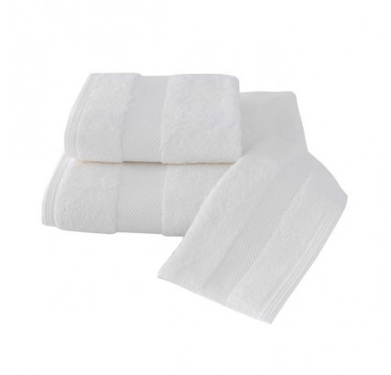 Набор салфеток Soft Cotton Deluxe кремовый (3 предмета)