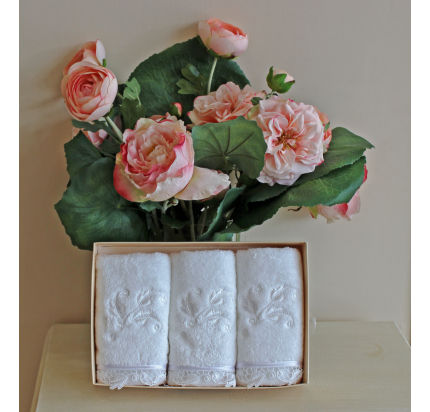 Салфетки Soft Cotton Nakkas Dantelli (3 предмета) 32x50