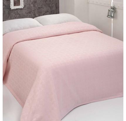 Вафельное покрывало Sofi de Marko Hera (грязно-розовое) 230x250