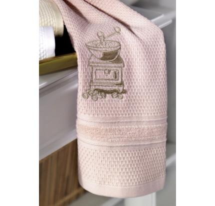 Салфетки для кухни Soft Cotton Mocha (розовый, 3 предмета)