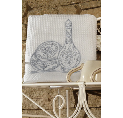 Салфетки для кухни Soft Cotton Ottoman (серый, 3 предмета)